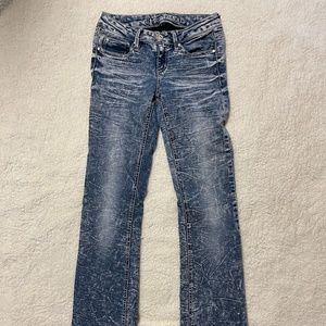 Almost Famous Women's Jeans Size 3 Bootcut